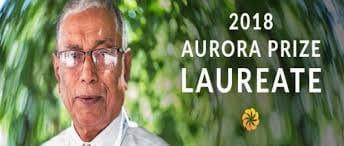 2018 Aurora Prize Laureate
